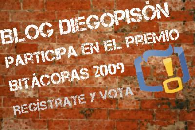 Premio Bitácoras 2009