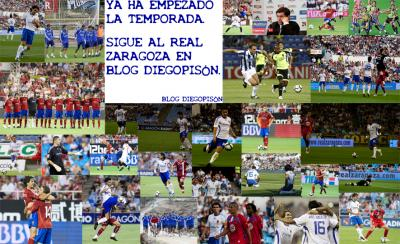 Sigue al Real Zaragoza en Blog Diegopisón